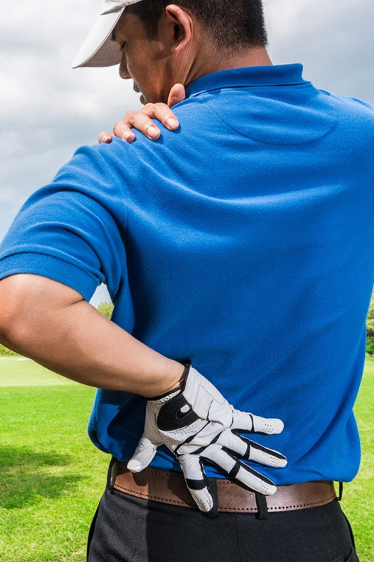 sport golf injury