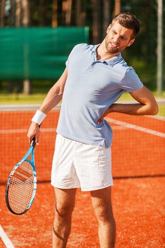 tennis sport injury