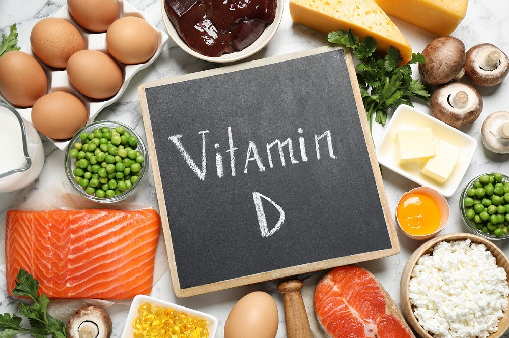 Image showing sources of Vitamin D