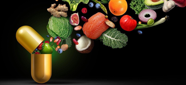 Vitamin Supplement showing benefits